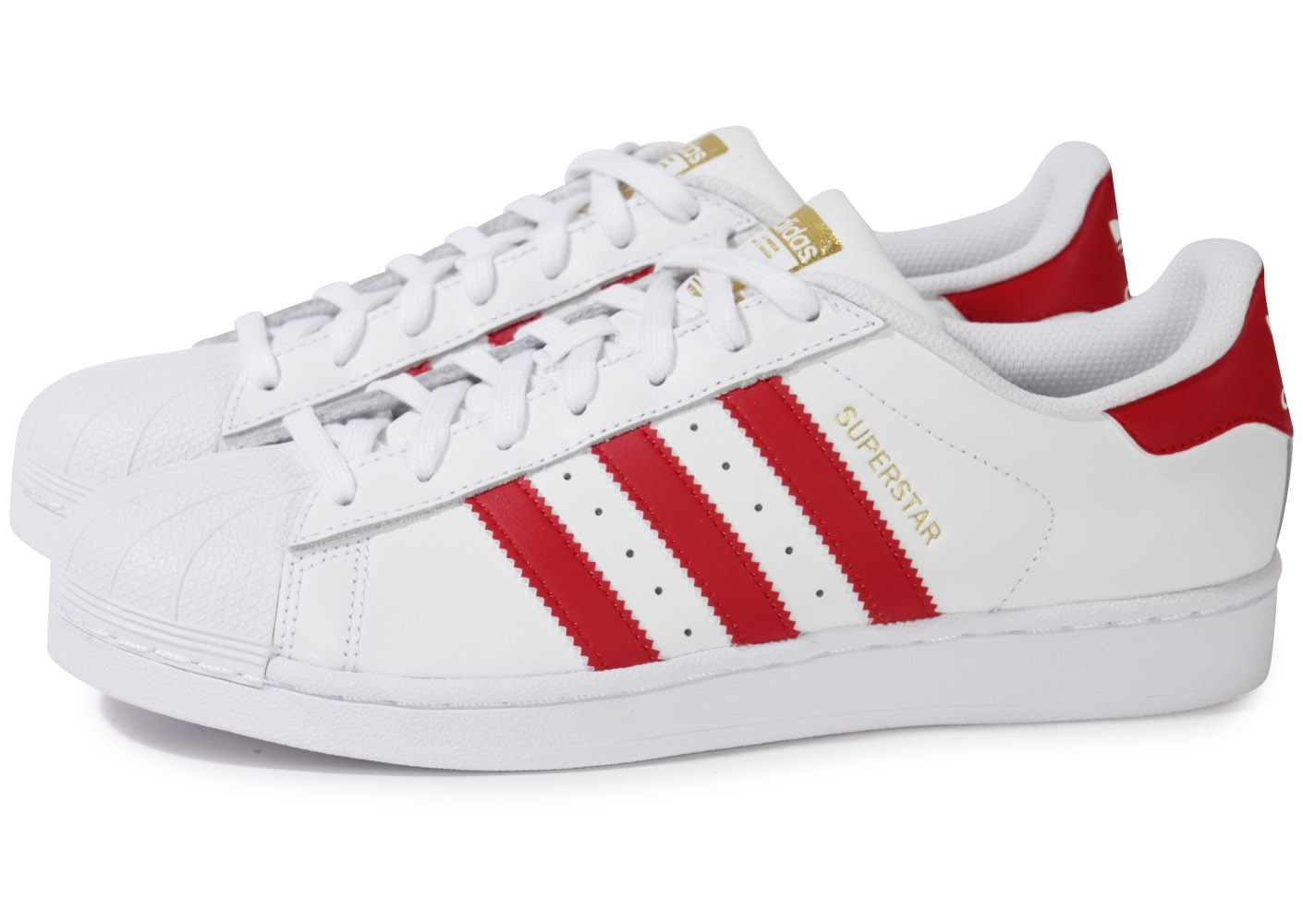 adidas superstar femme blanche et rouge Outlet Vente ...