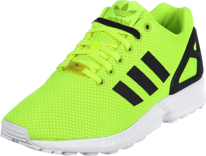 adidas zx flux vert fluo Outlet Vente Authentique