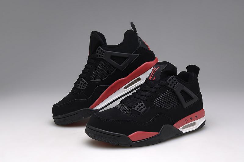 air jordan 4 noir et rouge