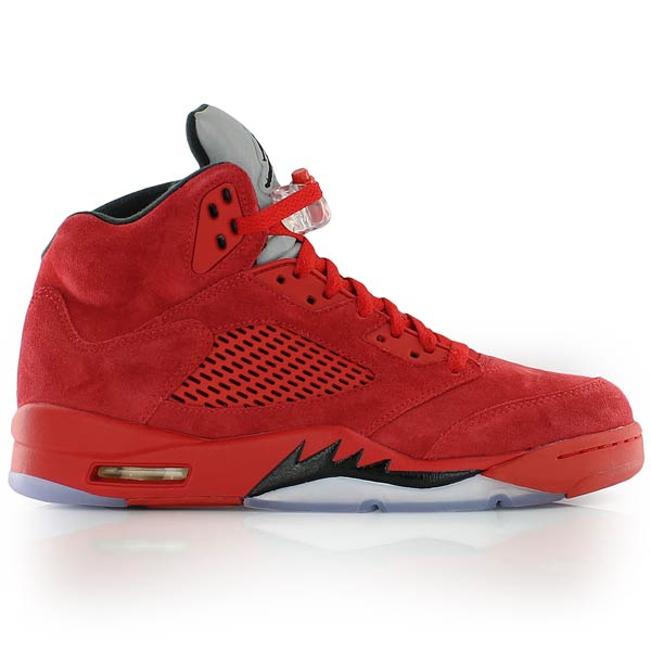 air jordan 5 retro noir rouge