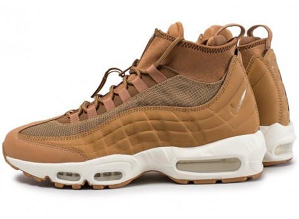 chaussure homme marron air max