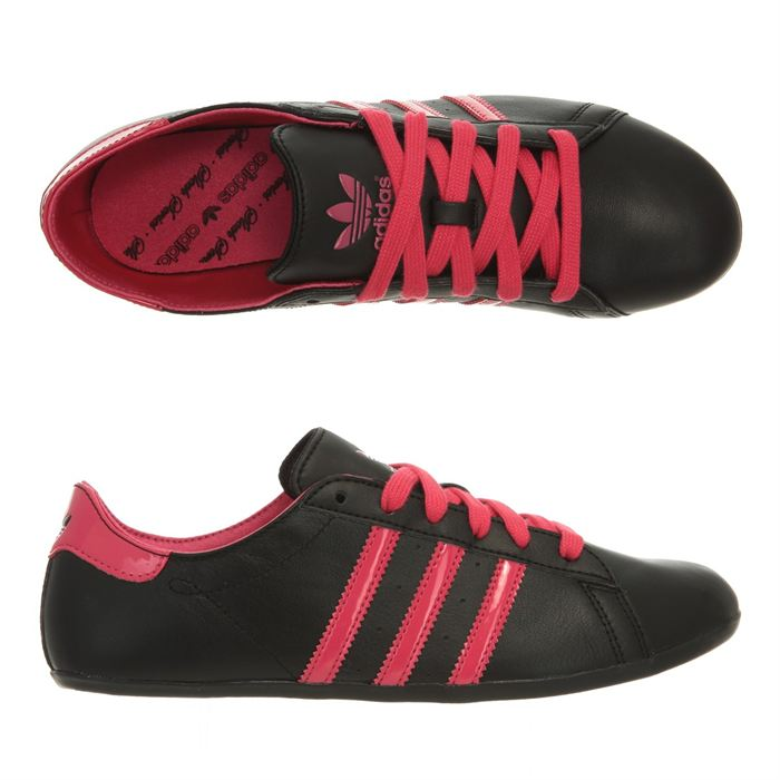 basket adidas noir et rose femme Outlet Vente Authentique