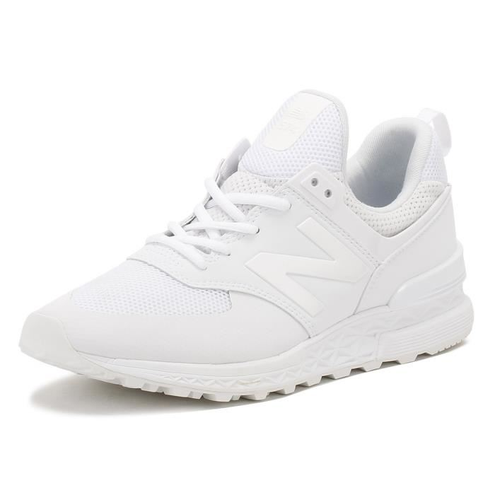 new balance blanches homme