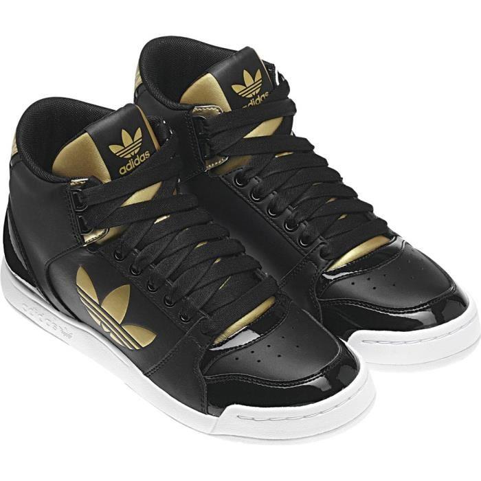 adidas superstar noire et or femme